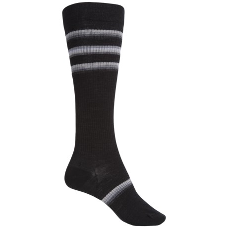 SmartWool Stand Up Graduated Compression Socks - Merino Wool, Over the Calf (For Women)
