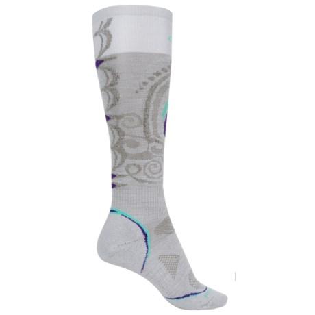 SmartWool PhD Snowboard Light Socks - Merino Wool, Over the Calf (For Women)