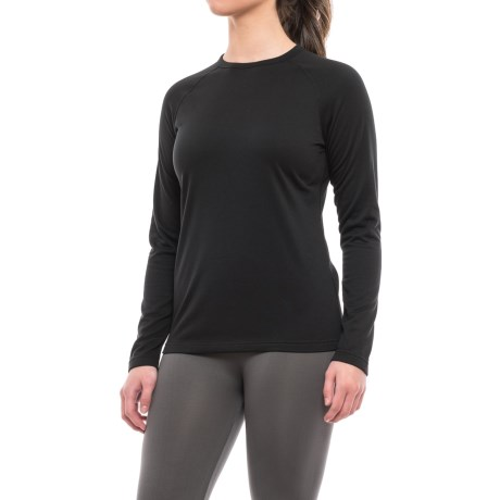 Terramar Genesis 3.0 Fleece Base Layer Top - UPF 50+, Crew Neck, Long Sleeve (For Women)