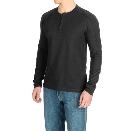 Agave Denim Agave Calico Henley Shirt - Long Sleeve (For Men)