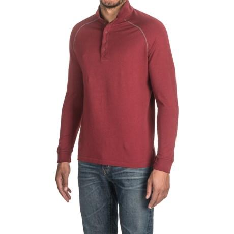Agave Denim Agave Warren Henley Shirt - Supima® Cotton, Long Sleeve (For Men)