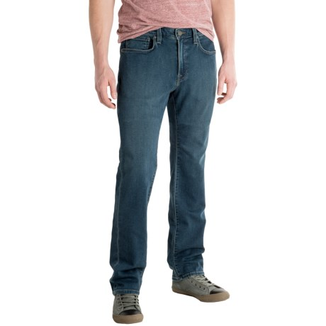 Agave Denim Agave No. 12 Athletic Fit Straight-Leg Jeans - Terry Tech (For Men)
