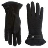 Woolrich Century Gloves - Suede-Wool, Fleece Lined (For Women)