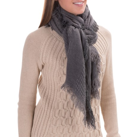 Woolrich Basket Weave Wrap (For Women)