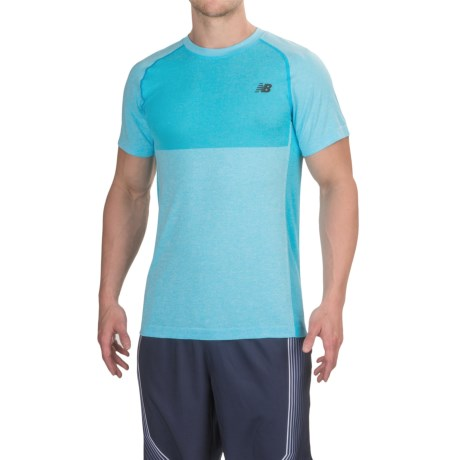 New Balance M4M Seamless T-Shirt - Short Sleeve (For Men)
