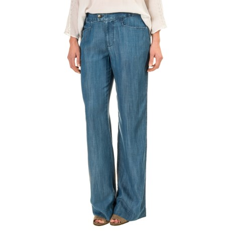 Foxcroft Solid TENCEL® Pants (For Women)