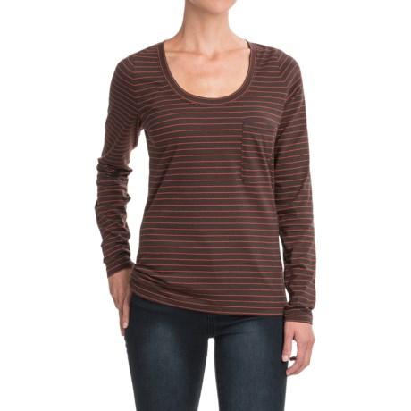 NAU Pinner Pocket-Tunic Shirt - Organic Cotton, Long Sleeve (For Women)