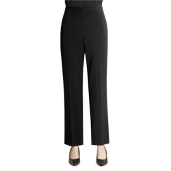 Alex New York Stretch Woven Pants - Side Zip (For Women)