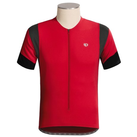 Pearl Izumi Elite Cycling Jersey - Three-Quarter Zip, Short Sleeve (For Men)