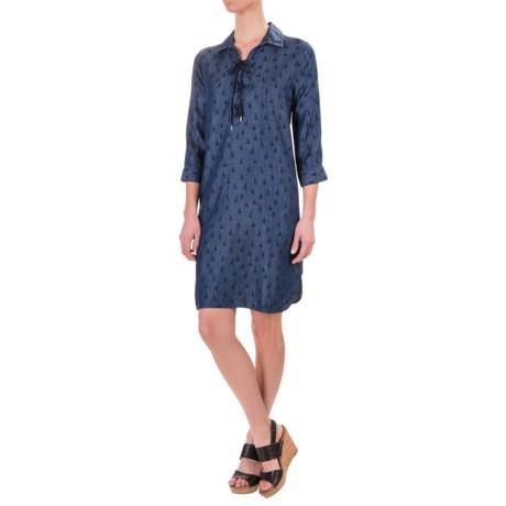 Foxcroft Chloe Sailboat TENCEL® Dress - 3/4 Sleeve (For Women)