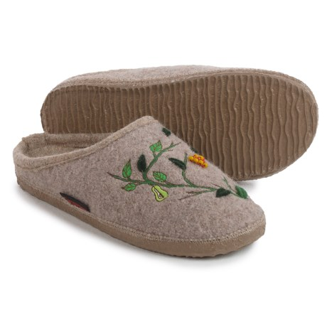 Giesswein Harpswell Boiled Wool Slippers (For Women)