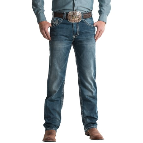 Rock & Roll Cowboy Cannon Raised-V Pocket Jeans - Bootcut, Loose Fit (For Men)