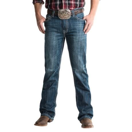 Rock & Roll Cowboy Double Barrel Jeans - Running-V Pocket (For Men)