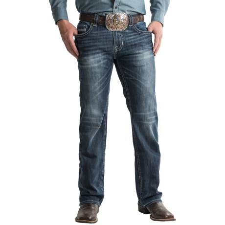 Rock & Roll Cowboy Pistol Jeans - Regular Fit, Straight Leg (For Men)