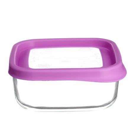 Bormioli Rocco Frigoverre Fun Glass Food Storage Container - 25.5 oz.
