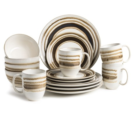 American Atelier Romy Collection Earthenware Dinnerware Set - 16-Piece