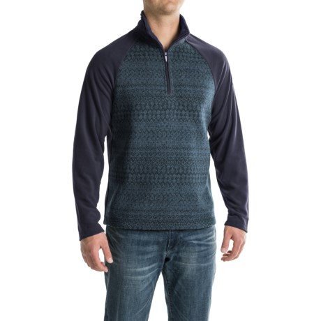 Craghoppers Elliston Fleece Shirt - Zip Neck, Long Sleeve (For Men)