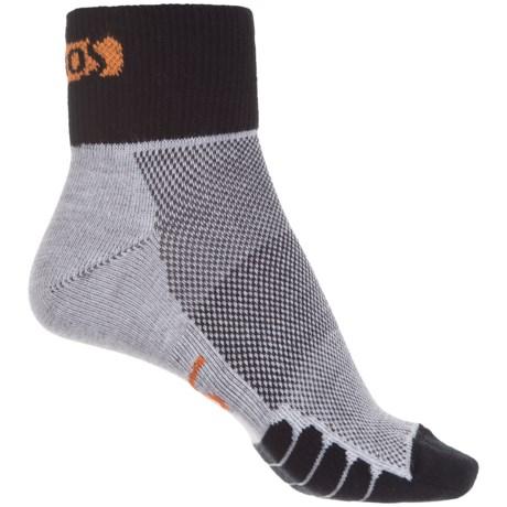 Eurosock Cycle Cool Socks - Quarter Crew (For Men and Women)