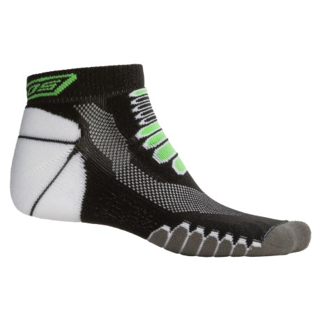 Eurosock 5K Silver Midweight Ped Socks - Ankle (For Men and Women)