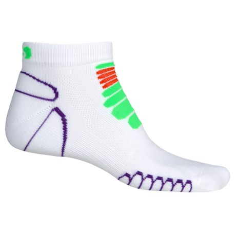 Eurosock 5K Silver Running Socks - Below the Ankle (For Men and Women)