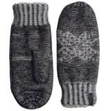 Woolrich Snowfall Valley Mittens - Chenille Fleece Lined (For Women)