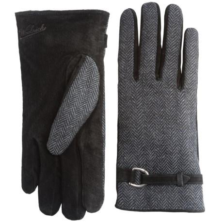 Woolrich Milltown Gloves - Suede, Fleece Lined (For Women)
