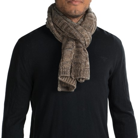 Woolrich Twisted Cable Scarf (For Men)