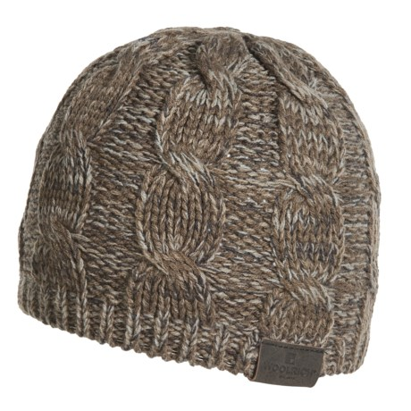 Woolrich Twisted Cable-Knit Hat (For Men)