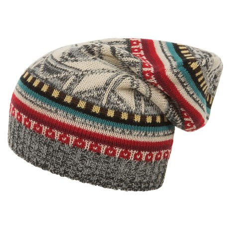 Woolrich Jacquard Slouch Hat (For Women)
