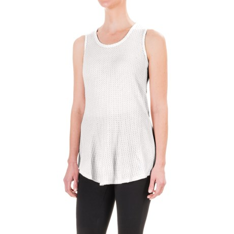Workshop Republic Clothing Textured Tank Top (For Women)