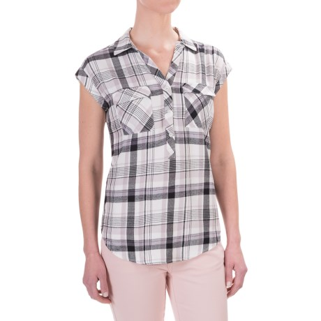 Philosophy Republic Clothing Philosophy Woven Shirt - Rayon, Sleeveless (For Women)