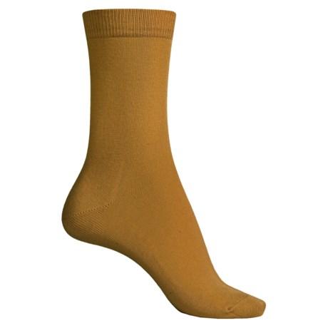 Falke Family Socks - Stretch Cotton, Crew (For Women)