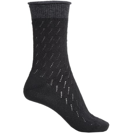 Falke Soft Ajour Socks - Crew (For Women)