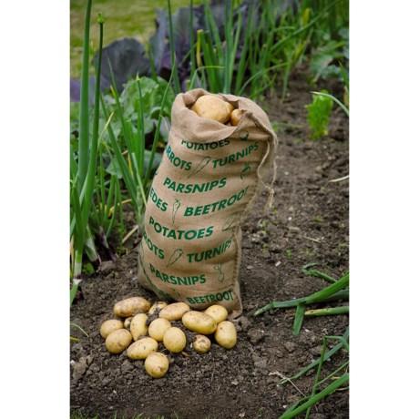 "Haxnicks Jute Vegetable Storage Sack - 16x27"""