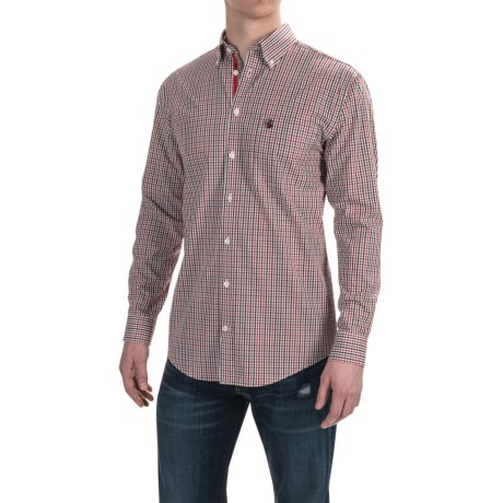 Southern Proper Goal Line Check Shirt - Long Sleeve (For Men)