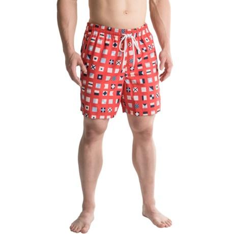 Southern Proper Flags Swim Trunks (For Men)