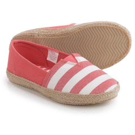 Hanna Andersson Paulina Striped Espadrilles (For Little and Big Girls)