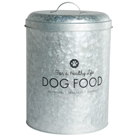 Global Amici Healthy Life Buster Metal Dog Food Bin - 17 lb.
