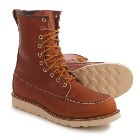 Red Wing Heritage 877 Classic Moc-Toe Boots - Leather, Factory 2nds (For Men)