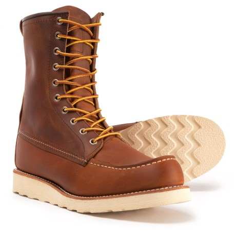 Red Wing Shoes Heritage 877 Classic Moc-Toe Boots - Leather, Factory 2nds (For Men)