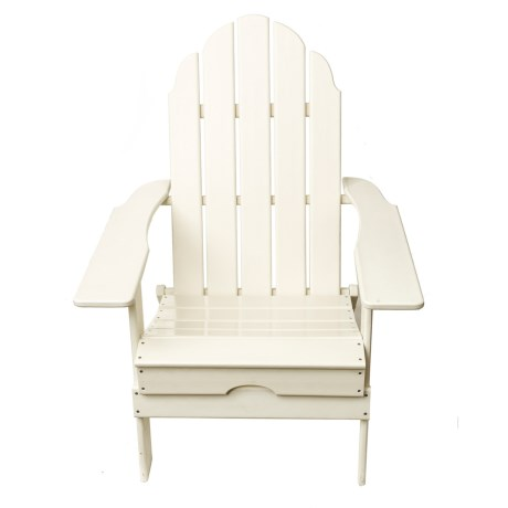 Aspen Brands Folding Recycled Composite Adirondack Chair