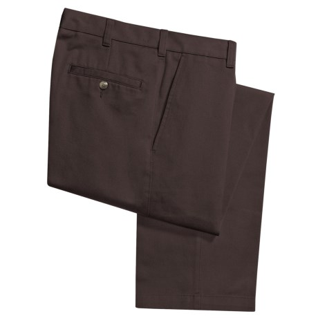 Specially made Cotton Twill Pants - Flat Front (For Men)
