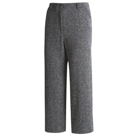 Orvis Donegal Tweed Crop Pants (For Women)