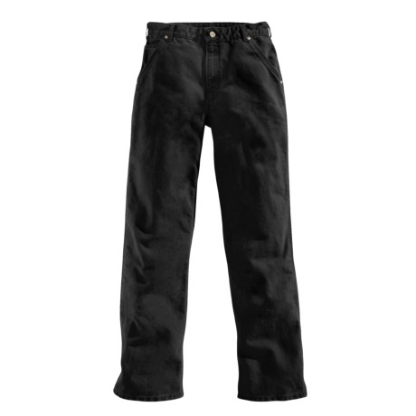 Carhartt Washed Duck Work Pants - Straight Leg (For Women)