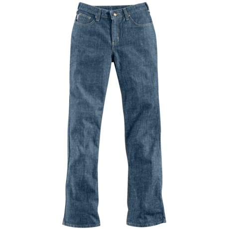 Carhartt Traditional Fit Work Jeans - Straight Leg (For Women)