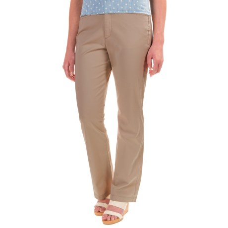 Specially made Stretch Twill Pants - Flat Front (For Women)