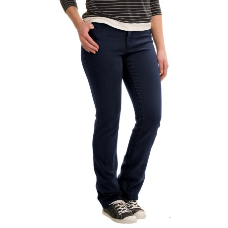 Specially made Lexington Lightweight Straight-Leg Jeans - Cotton-Rayon Blend (For Women)