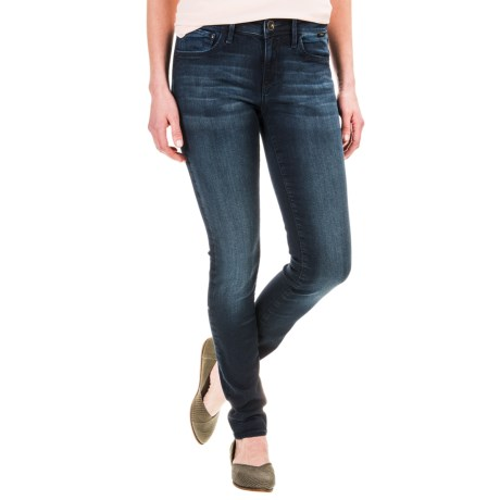 Mavi Adriana Gold Collection Super Skinny Ankle Jeans (For Women)