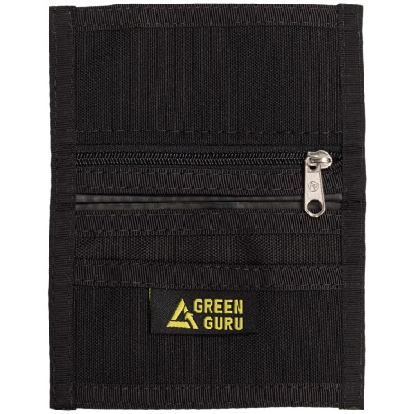 Green Guru ID Bi-Fold Zip Wallet (For Men)