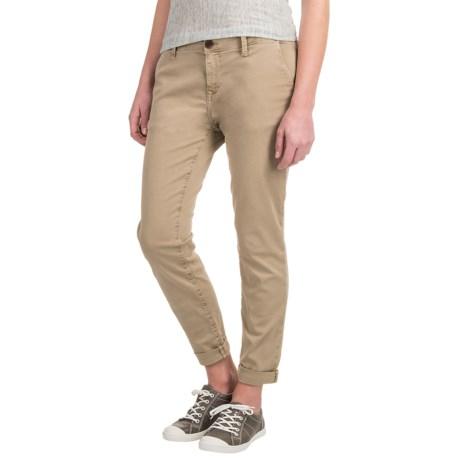 Mavi Selina Chino Pants - Stretch Cotton, Mid Rise (For Women)
